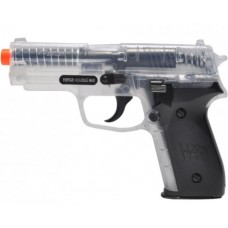 6mm AIRSOFT Sig Sauer P228 CLEAR spring 6mm BB PISTOL