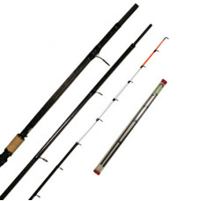 13FT ALASKA CARBON ULTIMATE METHOD FEEDER ROD WITH 2 TIPS F108, CARBON extra £10.00 of price when collected from store