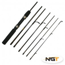 6ft, 7pc Carbon Expedition Travel Rod