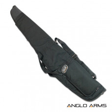 50 inch Anglo Arms GUN BAG Black Rifle, Scope Air Rifle Gun case With Fleece Lined Case (053-B)