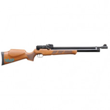 KRAL Puncher MAXI Black PCP Pre Charged Air Rifle .177 calibre 14 shot WALNUT STOCK