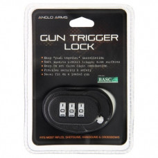 Trigger Lock Combination - Ideal for Pistols, Rifles, Shotguns etc Anglo Arms