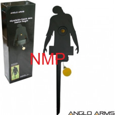 Anglo Arms Zombie Training Knock and Reset Target for Shooting with 177, 22 Calibre Air Rifles & Pellet Guns